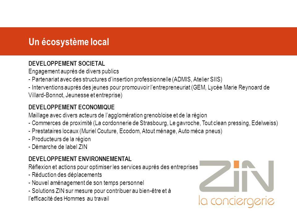 Un écosystème local