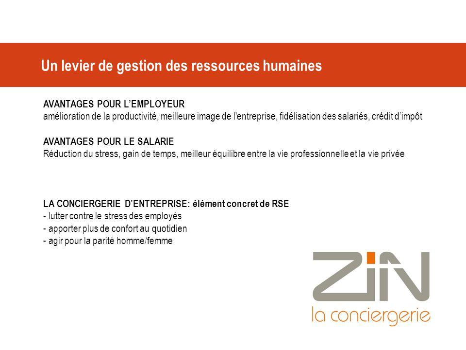 Un levier de gestion des ressources humaines