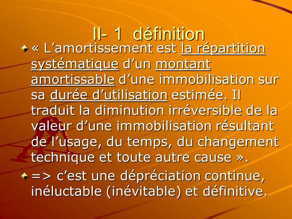 II- 1 définition