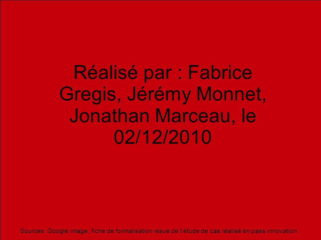 1212 Réalisé par : Fabrice Gregis, Jérémy Monnet, Jonathan Marceau, le 02/12/2010.
