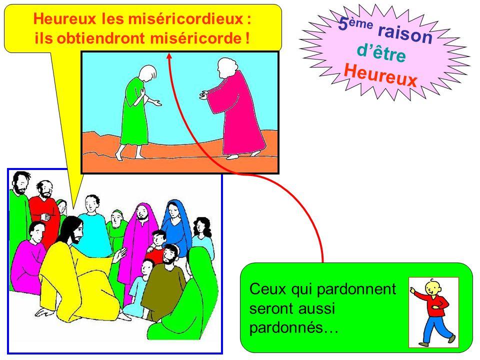 Heureux les miséricordieux : ils obtiendront miséricorde !