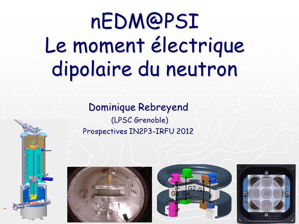 nEDM@PSI Le moment électrique dipolaire du neutron