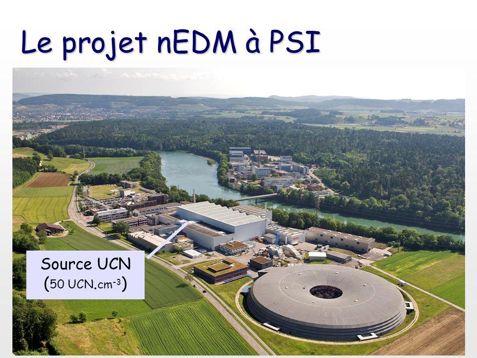 Le projet nEDM à PSI Source UCN (50 UCN.cm-3)