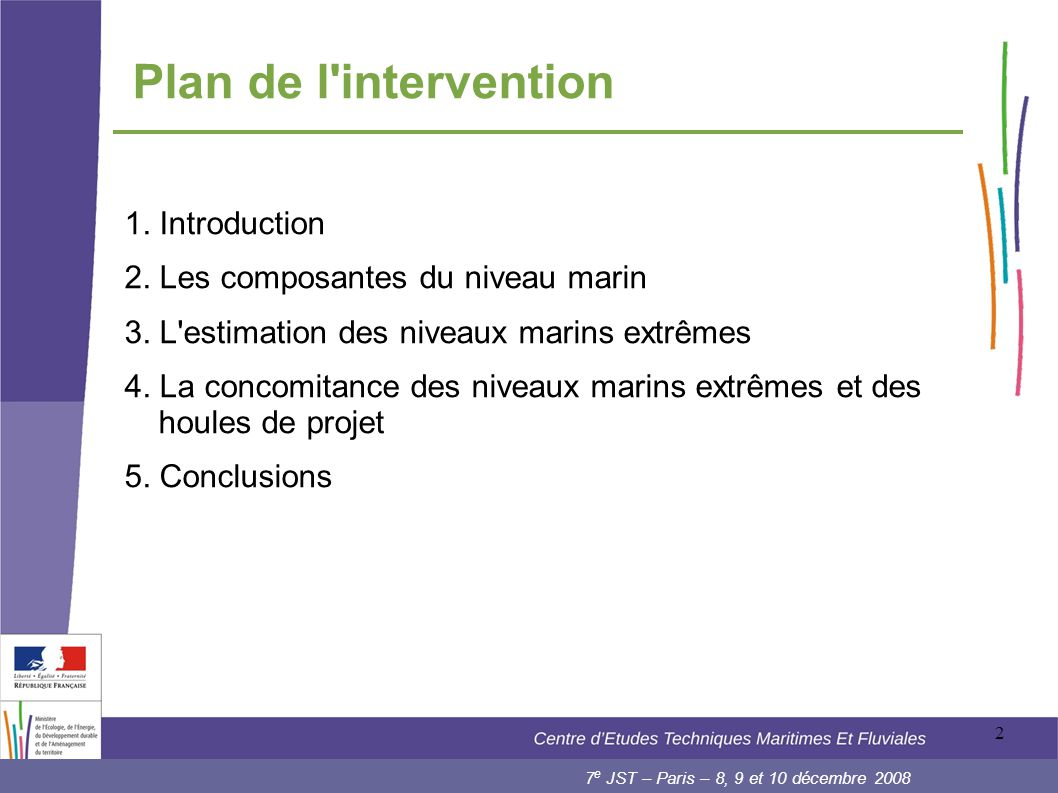 Plan de l intervention 1. Introduction