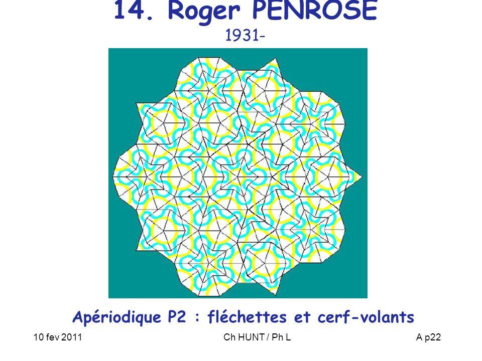 Apériodique P2 : fléchettes et cerf-volants