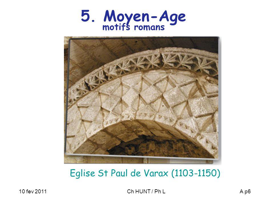 5. Moyen-Age motifs romans