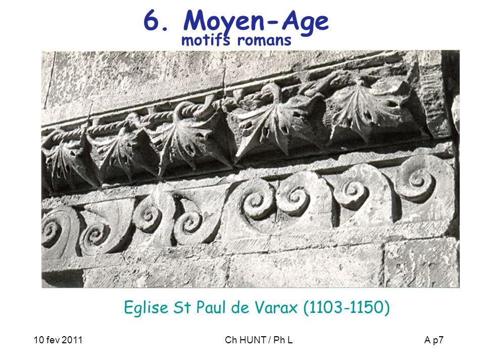 6. Moyen-Age motifs romans