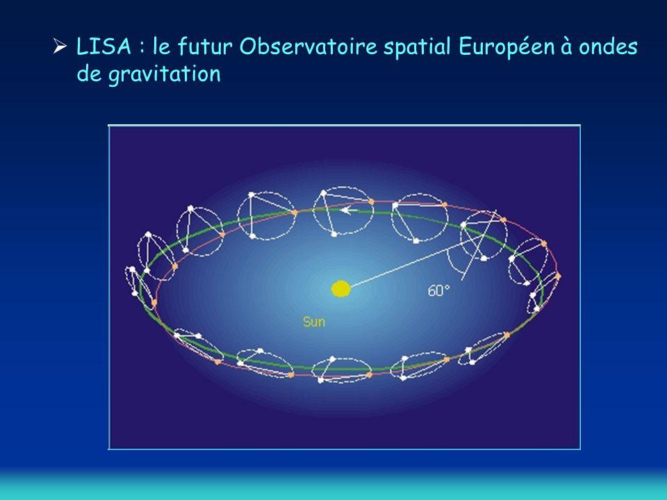 LISA : le futur Observatoire spatial Européen à ondes de gravitation