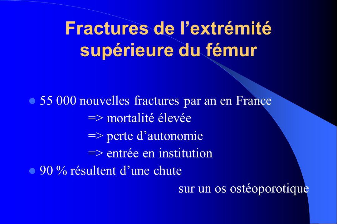 Fractures de l'extrémité supérieure du fémur