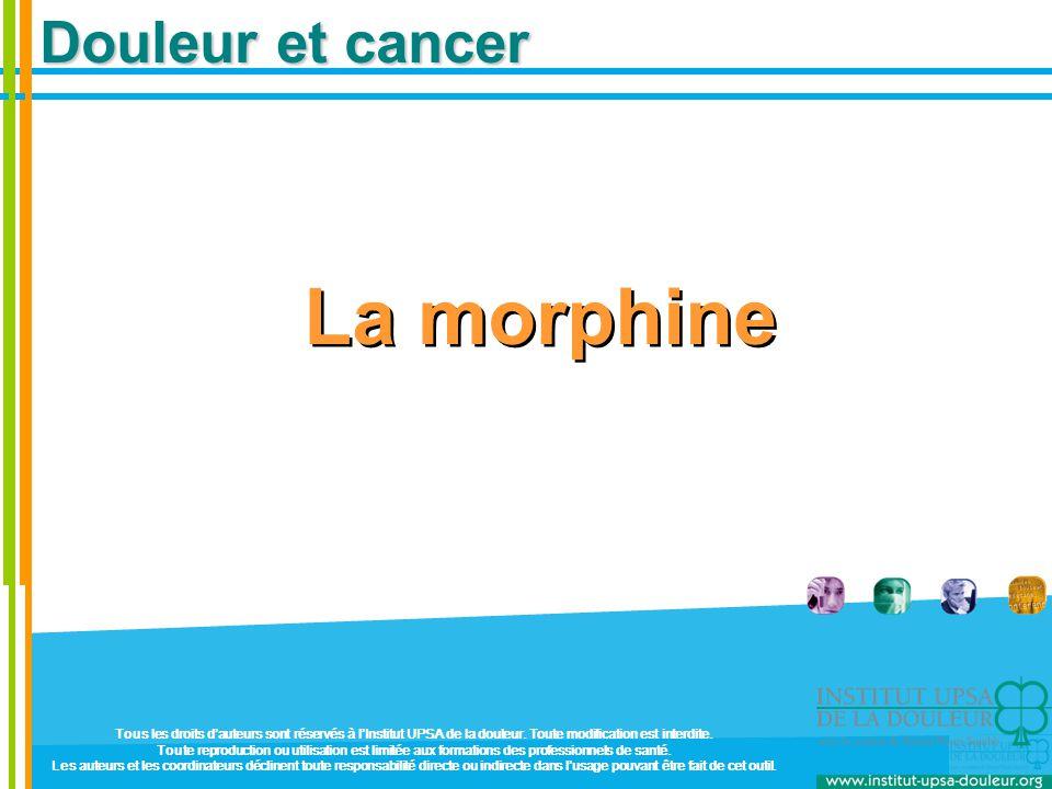 La morphine Douleur et cancer