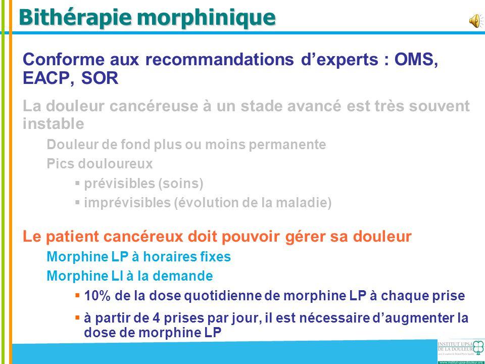 Bithérapie morphinique