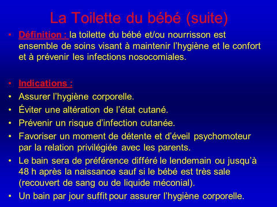 La Toilette du bébé (suite)