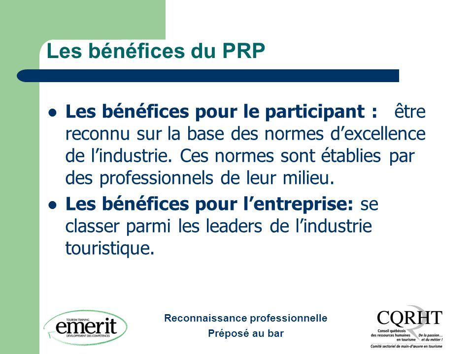 Les bénéfices du PRP