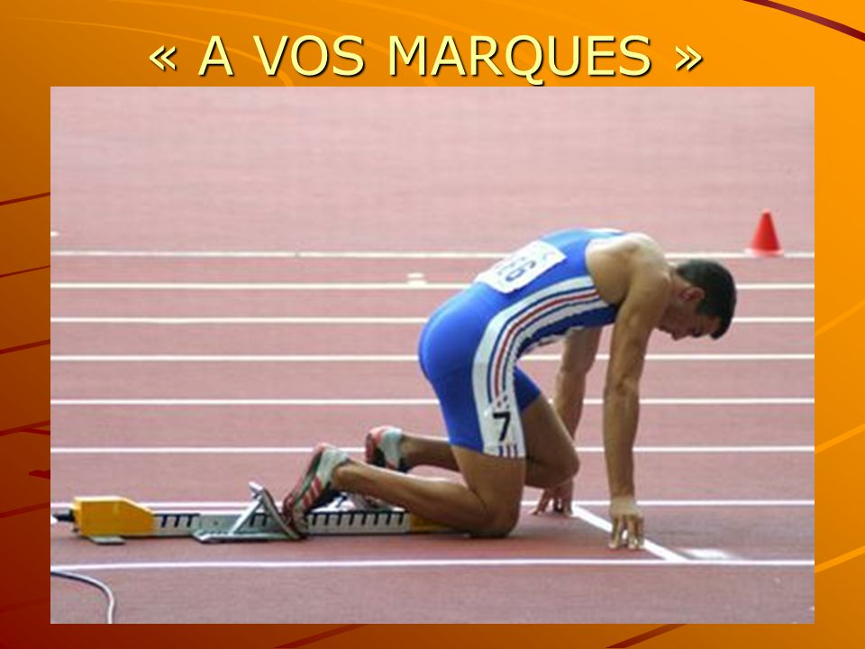 « A VOS MARQUES »