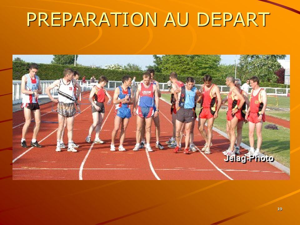 PREPARATION AU DEPART