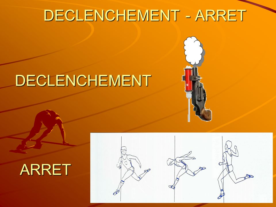 DECLENCHEMENT - ARRET DECLENCHEMENT ARRET