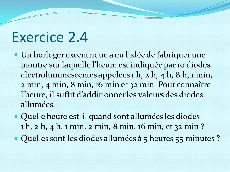 Exercice 2.4