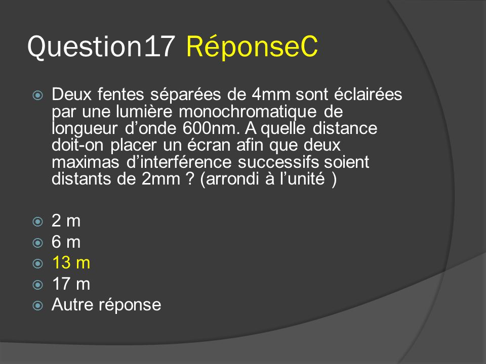 Question17 RéponseC