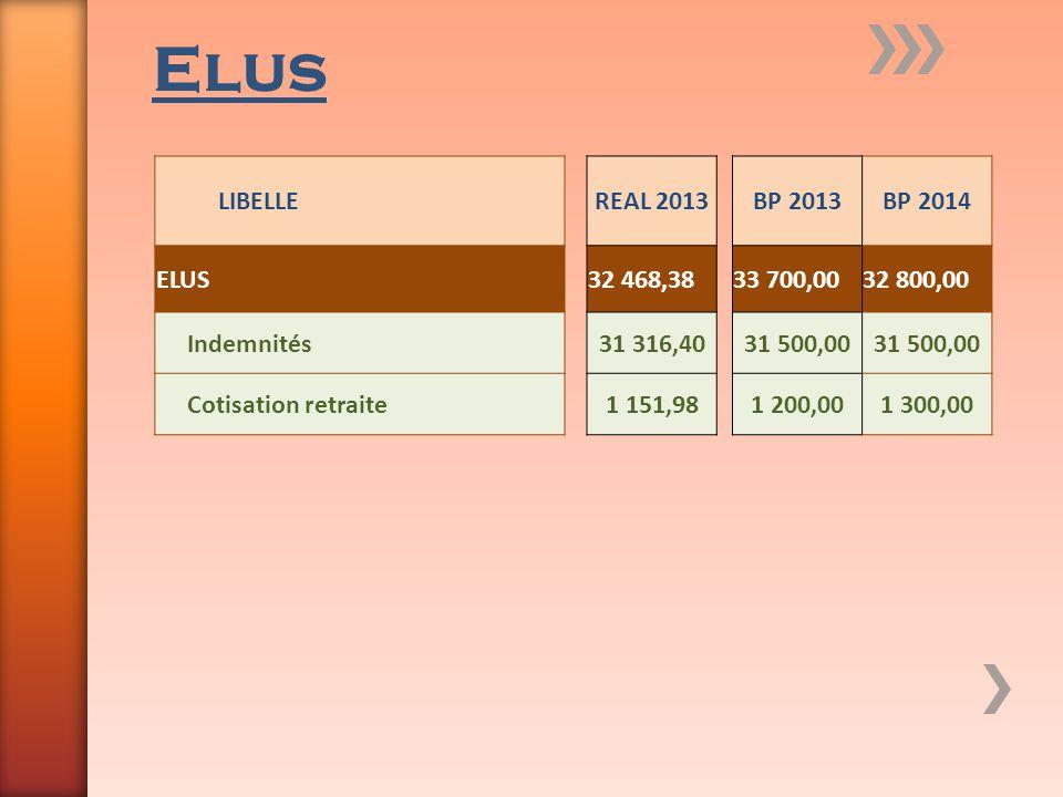 Elus LIBELLE REAL 2013 BP 2013 BP 2014 ELUS 32 468,38 33 700,00