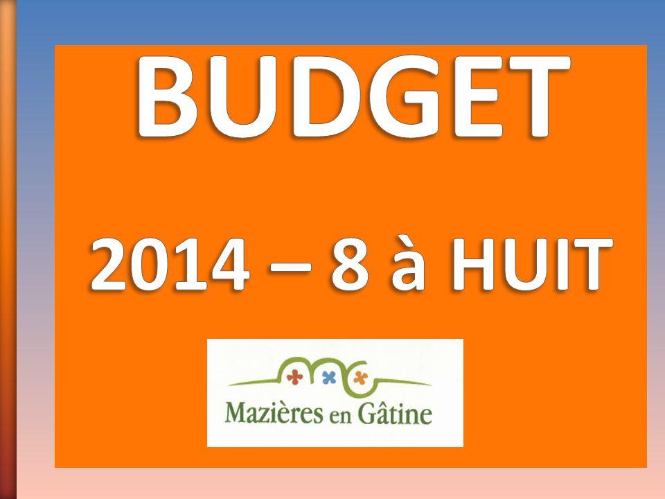 BUDGET 2014 – 8 à HUIT