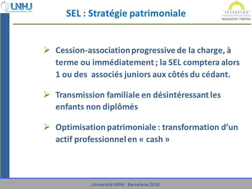 SEL : Stratégie patrimoniale