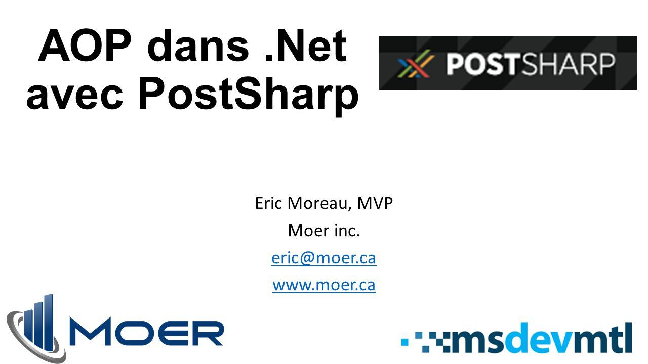 AOP dans .Net avec PostSharp
