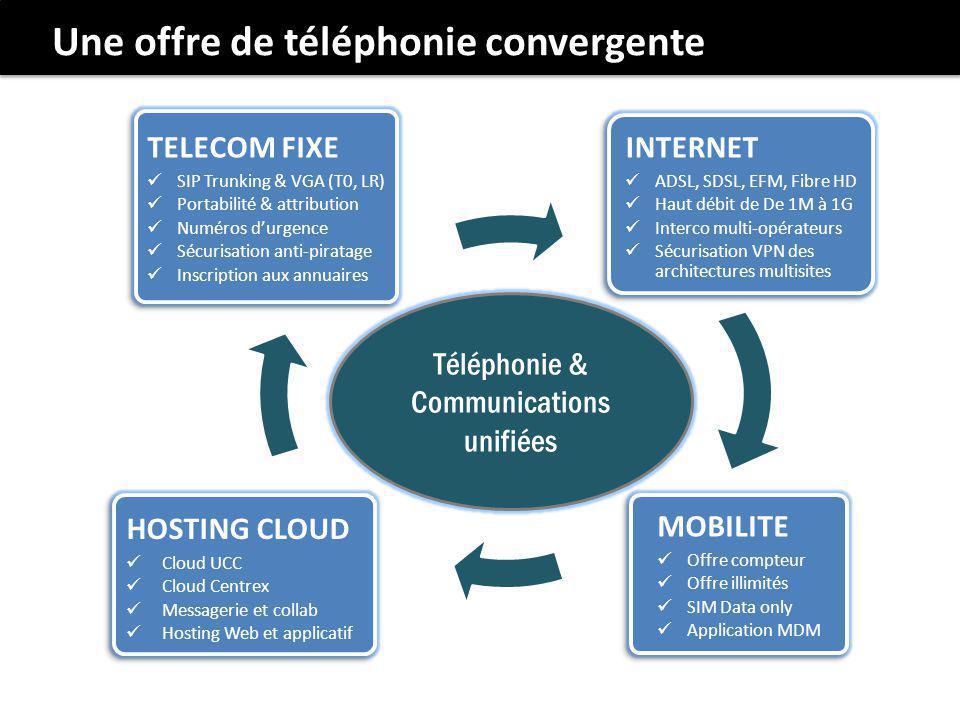 Téléphonie & Communications unifiées