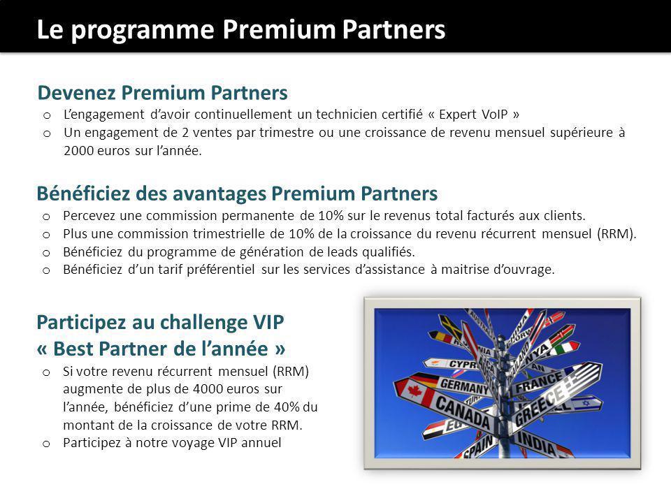 Le programme Premium Partners