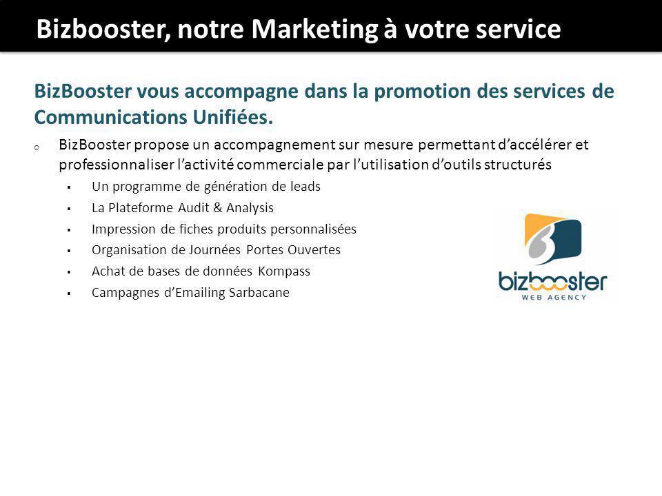 Bizbooster, notre Marketing à votre service