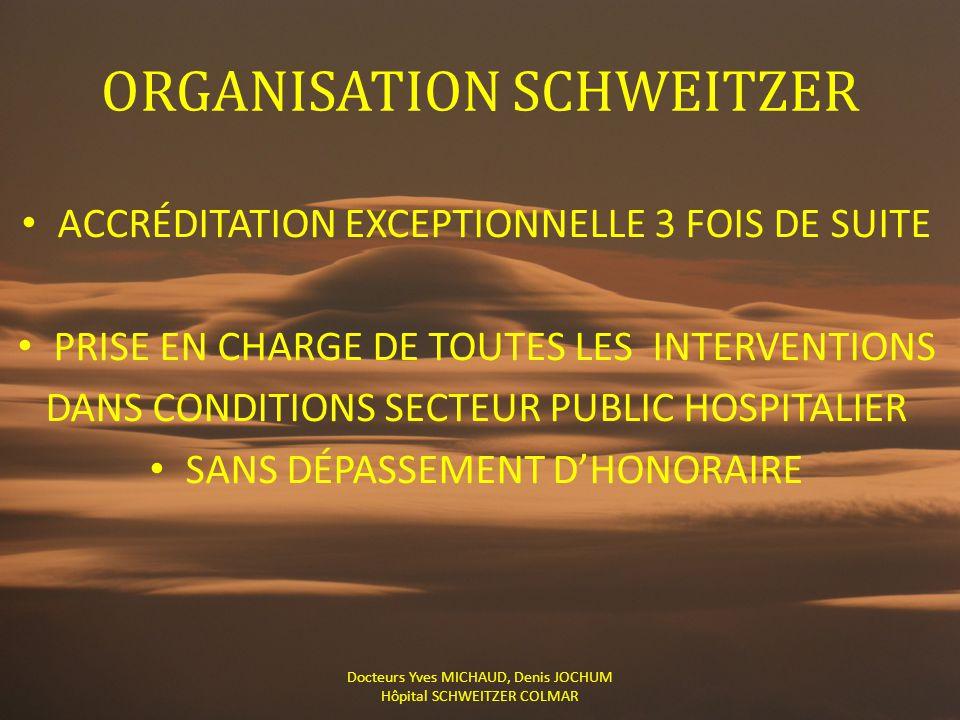 ORGANISATION SCHWEITZER