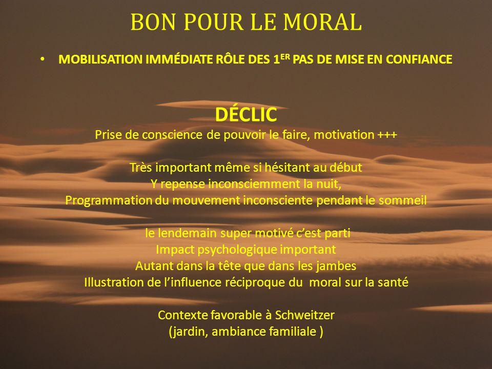 BON POUR LE MORAL DÉCLIC