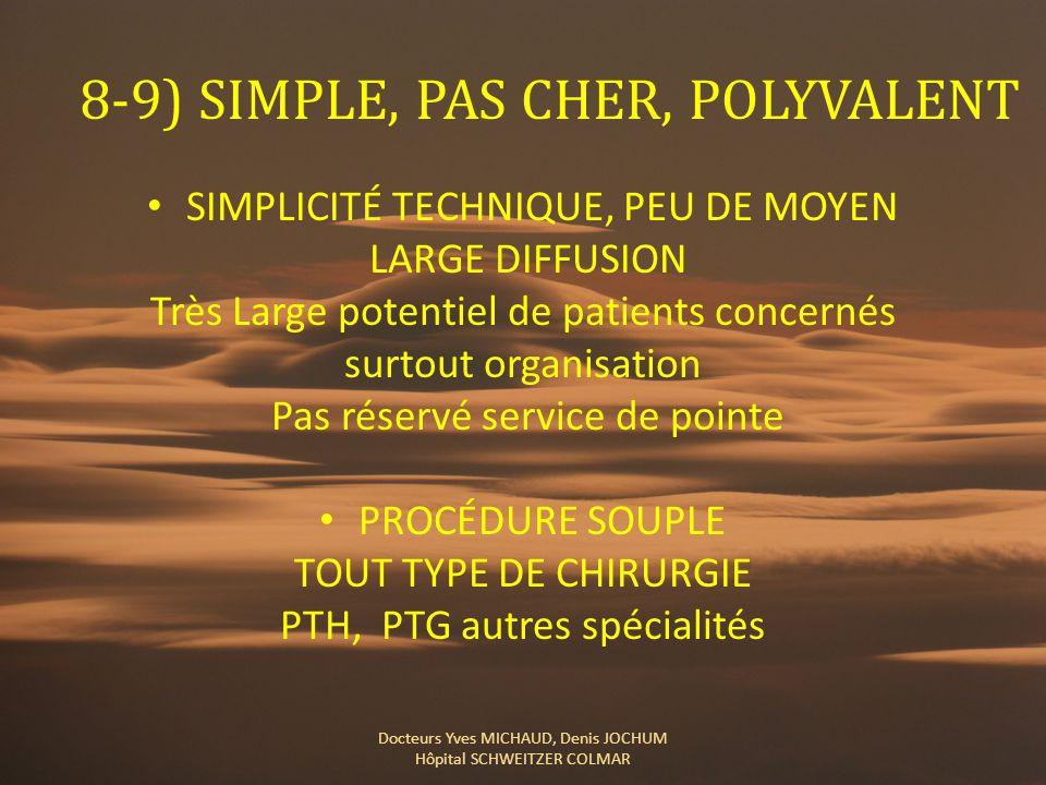 8-9) SIMPLE, PAS CHER, POLYVALENT
