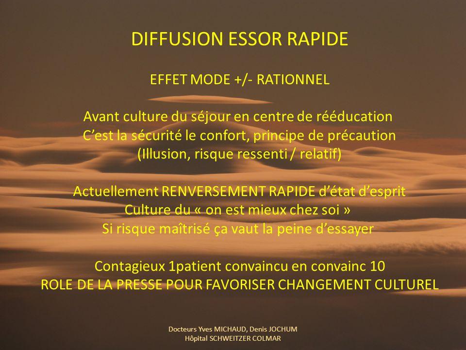 DIFFUSION ESSOR RAPIDE
