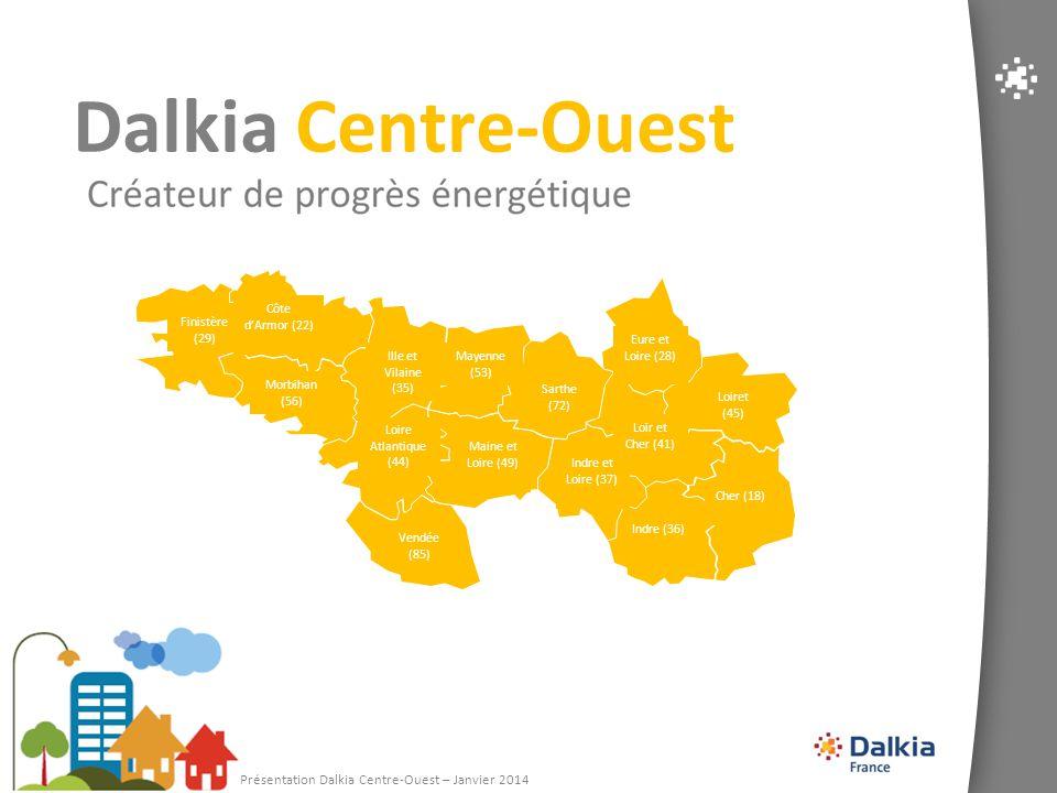 Dalkia Centre-Ouest 1 Présentation Dalkia Centre-Ouest – Janvier 2014