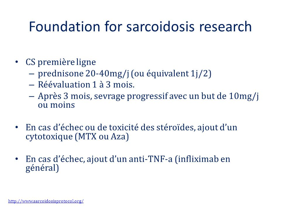 Foundation for sarcoidosis research