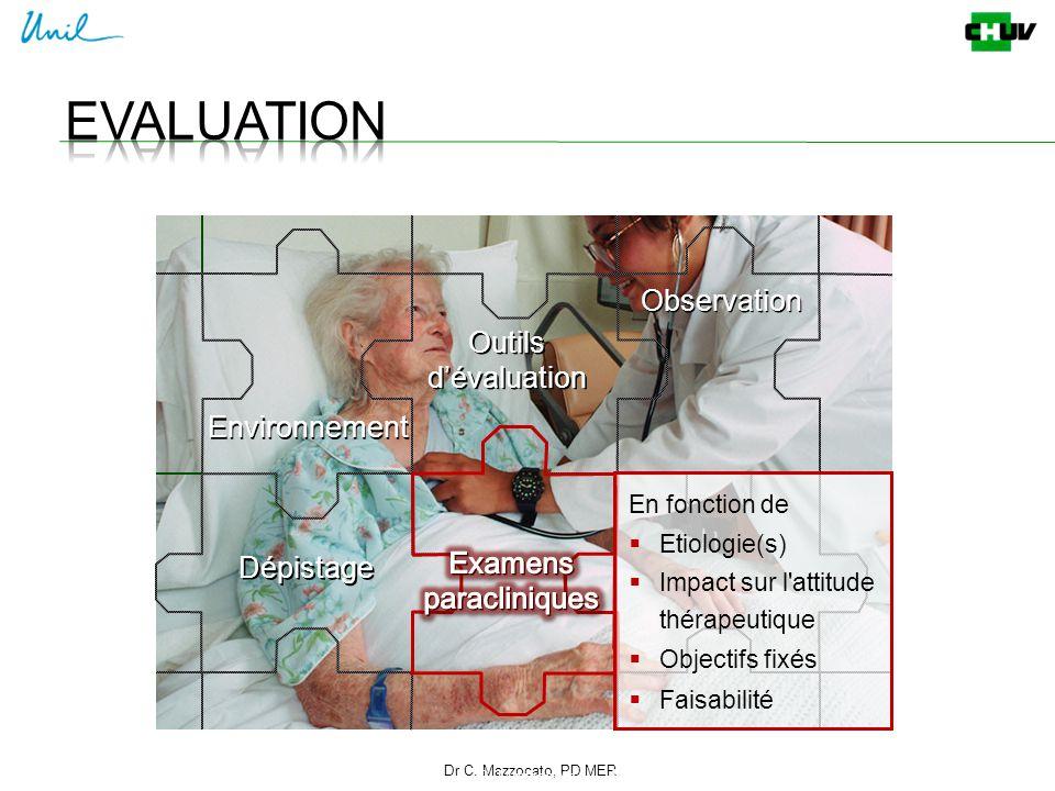 Evaluation Observation Outils d'évaluation Environnement Examens