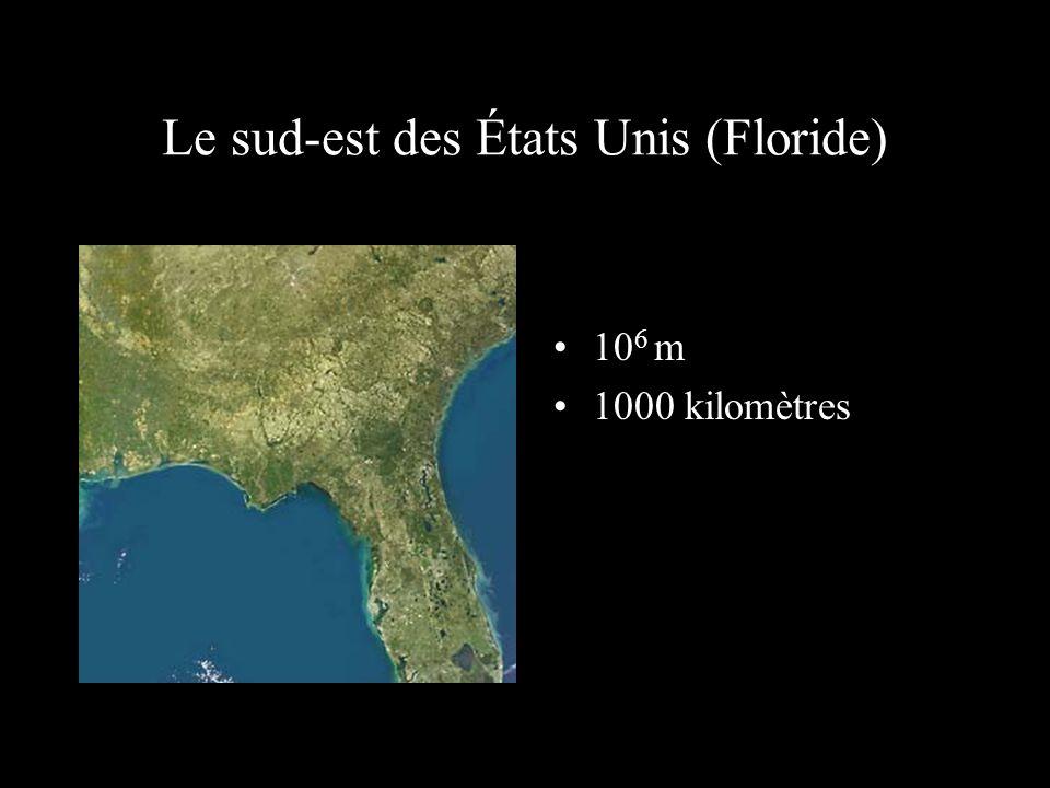 Le sud-est des États Unis (Floride)