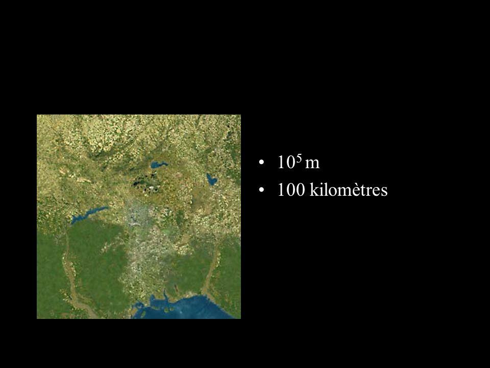 105 m 100 kilomètres