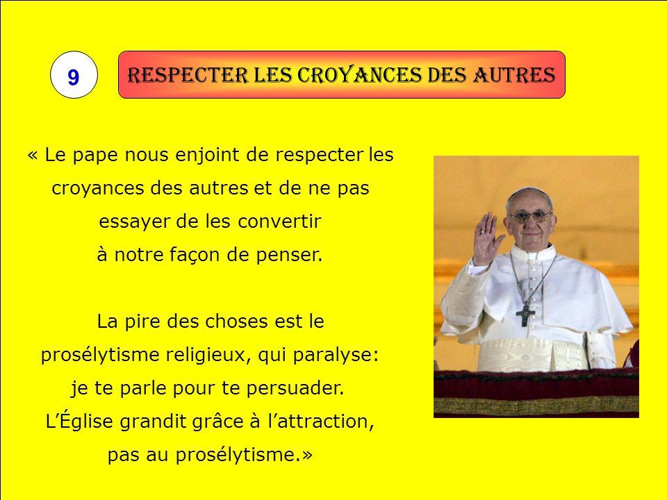 Respecter les croyances des autres 9