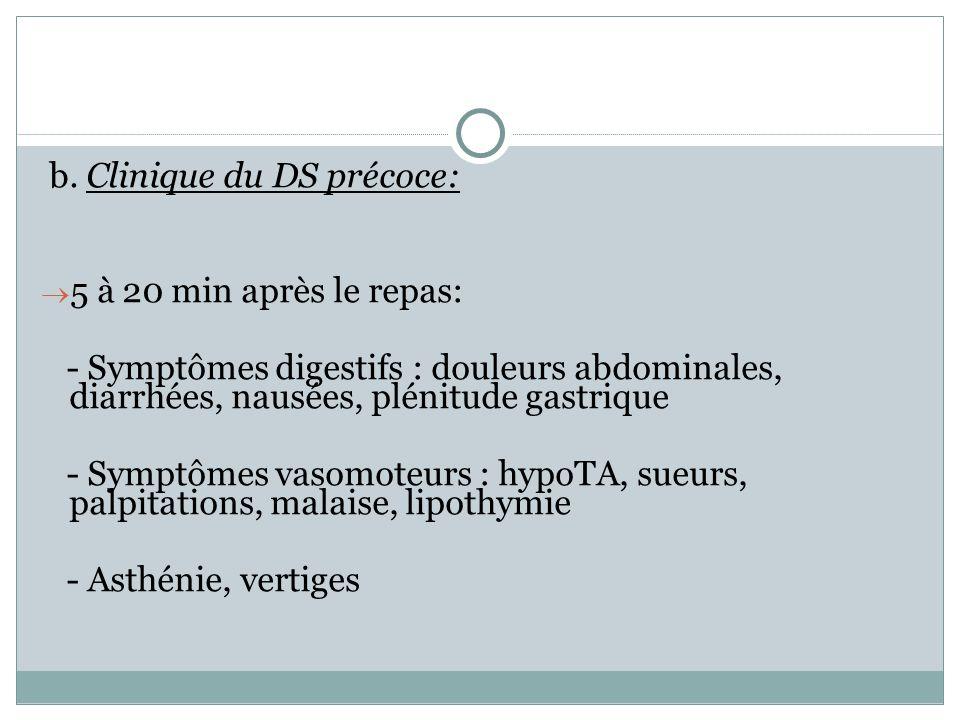b. Clinique du DS précoce: