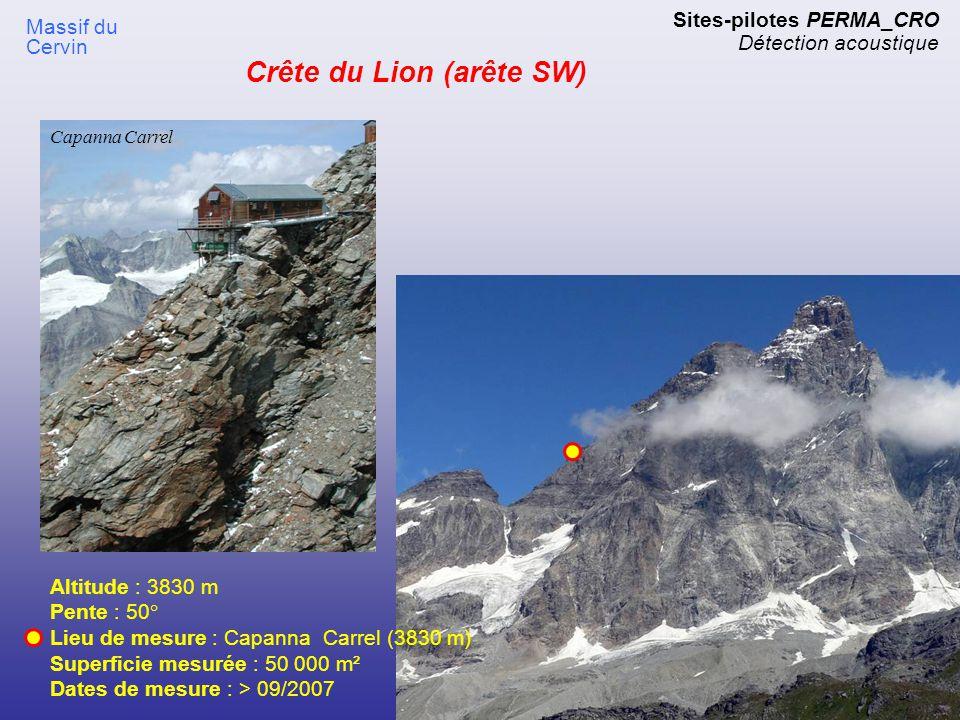 Crête du Lion (arête SW)
