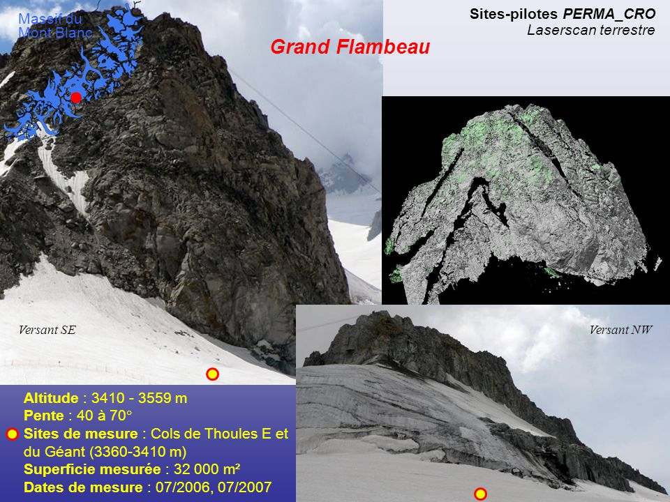 Grand Flambeau Sites-pilotes PERMA_CRO Laserscan terrestre