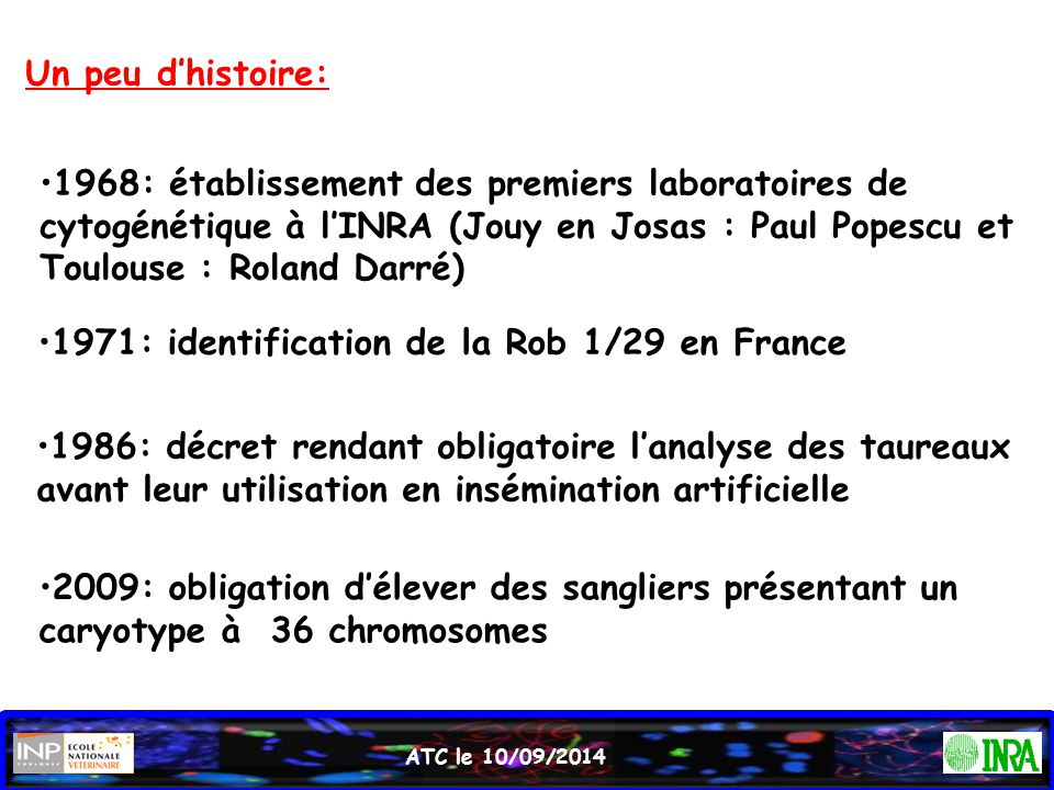 1971: identification de la Rob 1/29 en France