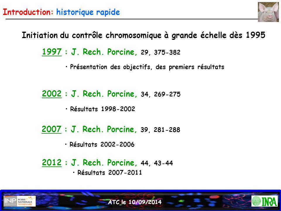 Introduction: historique rapide
