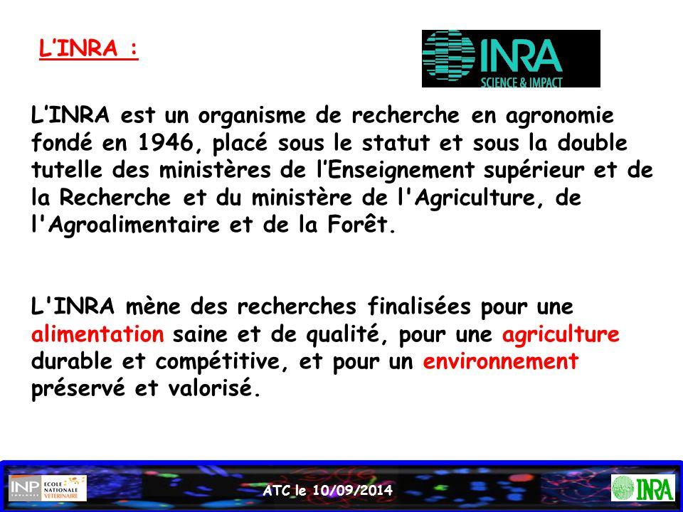 L'INRA :