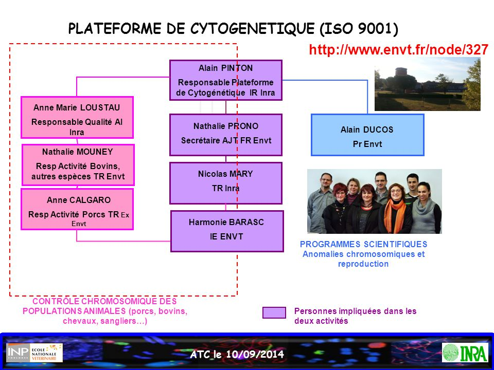 PLATEFORME DE CYTOGENETIQUE (ISO 9001)