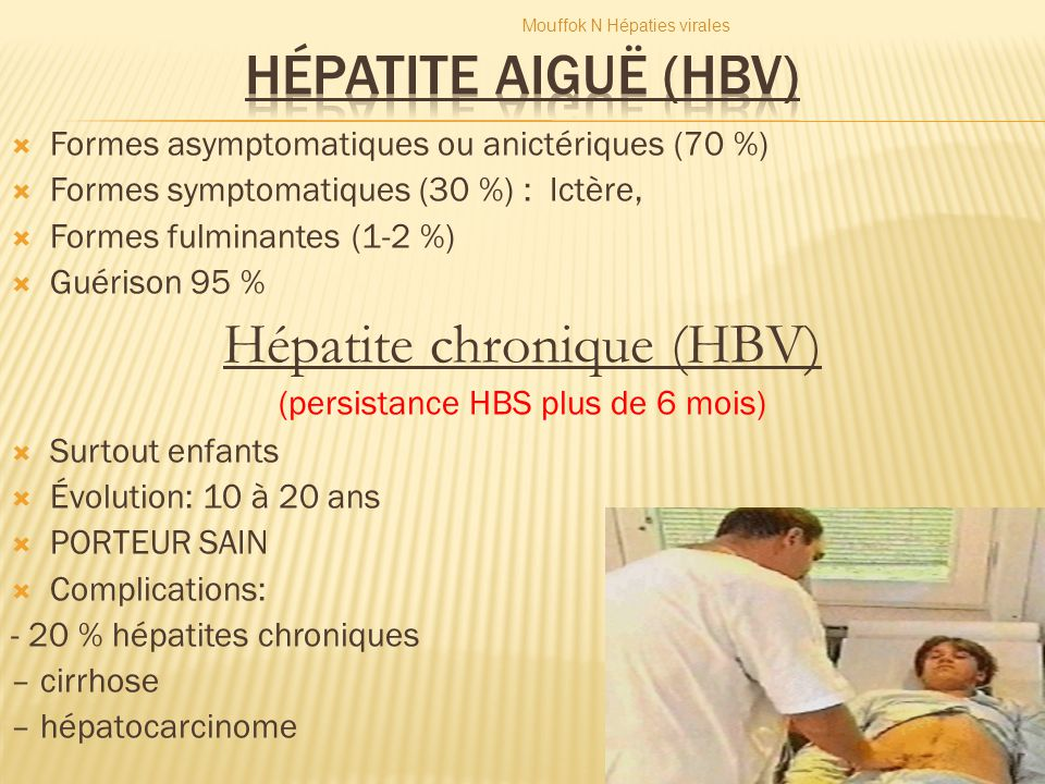 Hépatite chronique (HBV)