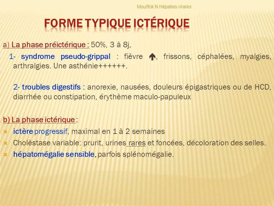 Forme typique ictérique