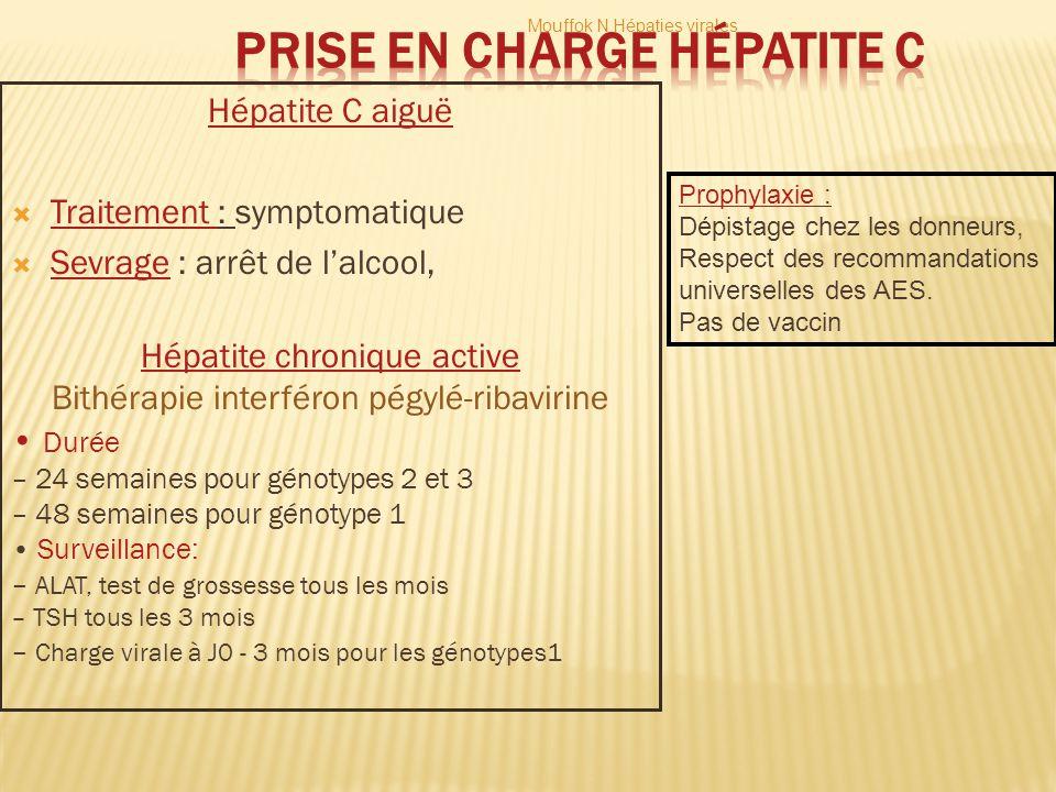 Prise en charge Hépatite C