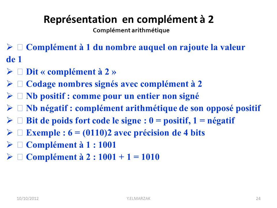 Complément arithmétique